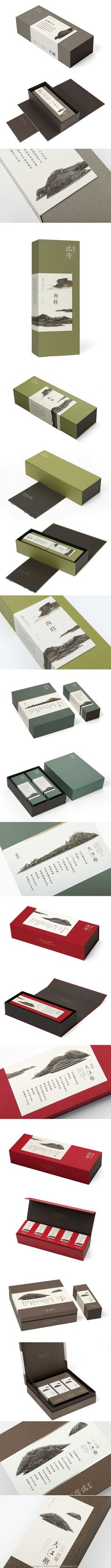WUYI RUIFANG #tea #packaging Wuyi Rueifang tea, founded in 1899, by Mr Jiang Taiyuan in Wuyishan. | Designed by One &One PD