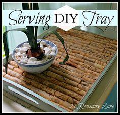21 Rosemary Lane: DIY Serving Tray