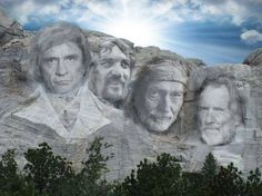 The Highwaymen - Mount Rushmore Country Music Stars, Best Country Music, Country Musicians, Country Music Artists, Country Singers, Outlaw Country, Country Boys, American Country, Country Life
