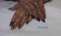 Gel Acrylic Nails, Class Ring, Beauty, Jewelry, Jewlery, Jewerly, Schmuck, Jewels, Jewelery