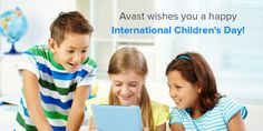 #InternationalChildrensDay is all about celebrating the bright, young minds of the world. To support our children's growth, learn how to keep them safe online.