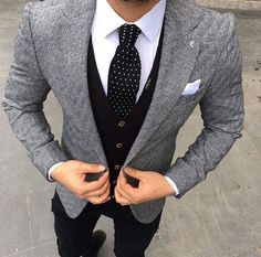 Suit Up! B/C your personality isn't the first thing people see #tie #menfashion #menstyle