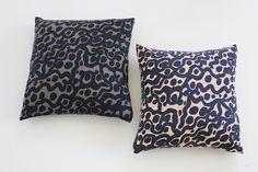 Large Pillow, Dense Pattern
