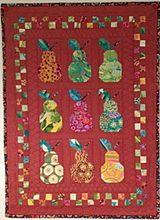 Alewives Fabrics: canned pears kit