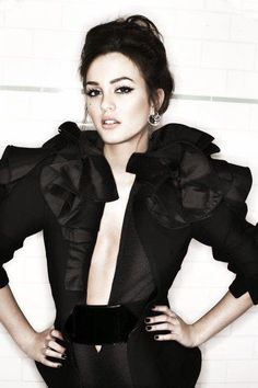 Leighton Meester, don't look like leighton ....but....is Blair ;)