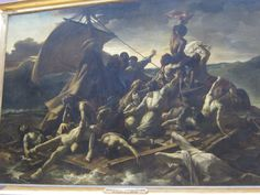 The Raft of Medusa by Théodore Géricault Medusa, Rafting, Les Oeuvres, Art History, Pictures, Image, Parisian, Affair, Paintings