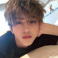 Kun with freckles is my fave Jaehyun, Darren Wang, Rapper, Korea Boy, Golden Child, Percents, Chinese Boy, Cute Korean, Ulzzang Boy