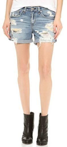 Summer Staple: Rag & Bone/JEAN The Boyfriend Shorts