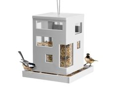 13 Fun and Funky Bird Feeders --> http://www.hgtvgardens.com/animals-and-wildlife/13-bird-feeders-with-serious-wow-factor?s=3&soc=pinterest