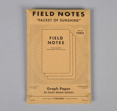Field Notes  Army