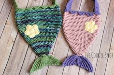 Mermaid Tail Bag Free Crochet Pattern