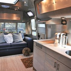 Airstream Ideas, Pictures, Remodel and Decor