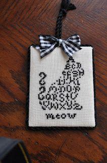 Alphabet Cat. JBW Designs