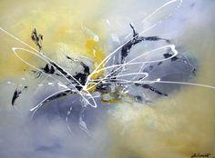 Peinture acrylique 100/73cm.