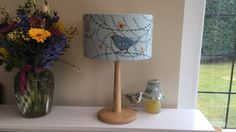 New handmade lampshade made by me Beverley Holmes-Wright, find me at www.stitchingforthesoul.co.uk