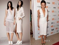 Mila Kunis In Burberry Prorsum – 'Third Person' Toronto Film Festival Premiere
