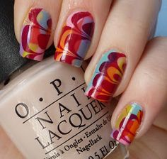 Cutie-cles: New Water Marble Technique