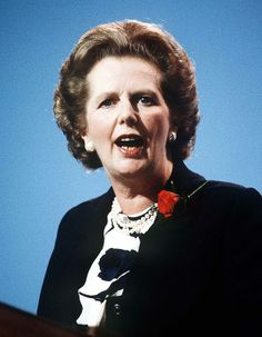Margaret Thatcher 1986