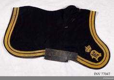 Shabraque m/1845 for Troopers at the Life Regiment Dragoons.