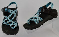 Chaco 5 Medium ZX2 Yampa Vibram Womens  Blue Sandals Excellent Used  #chaco #SportSandals