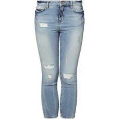 Noisy May LUCY Jeansy Slim fit light blue denim