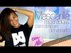 Mascarilla casera reparadora para pelo y cara #LascosiñasdeAle - YouTube