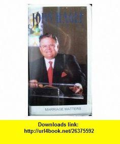 Marriage Matters John Hagee ,   ,  , ASIN: B000WE4Q0O , tutorials , pdf , ebook , torrent , downloads , rapidshare , filesonic , hotfile , megaupload , fileserve