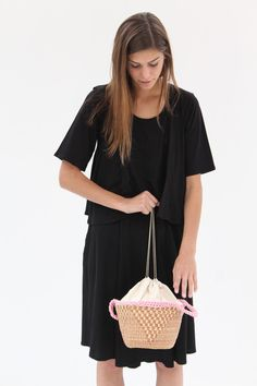 Straw bags - made in france.