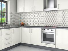 Waterafstotende Verf Keuken : Witte tegels achterwand keuken witte keukens qasa achterwand