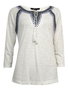 9c6d0896c2d Womens Plus Slub Embroidered Pullover Top   Unbelievable item right here! Plus  Size ActivewearPlus DressesActive ...