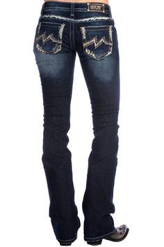 Miss Me® Dark Wash M-Stitch Bootcut Jeans