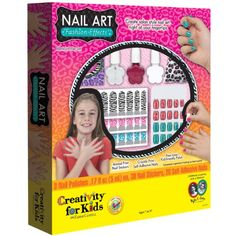 awesome Creativity for Kids Nail Art Fashion Effects Kit,
