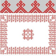Русско народная вышивка в картинках