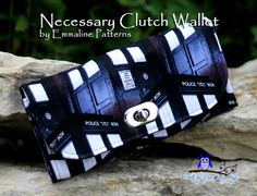 Necessary Clutch Wallet / Wristlet / Cell Phone by MissBossyBags