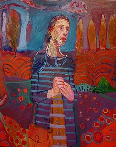 Meirion Ginsburg  Girl With Satchel