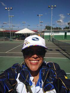 Llegando al Complejo Bolivariano de Tenis