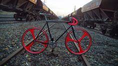 Fixie et singlespeed de notre internaute bordelais | Fixie Singlespeed, infos vélo fixie, pignon fixe, singlespeed.