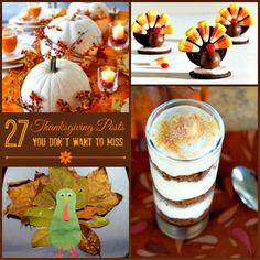 27 #Thanksgiving Posts #crafts #recipes #fashion #holiday #diy