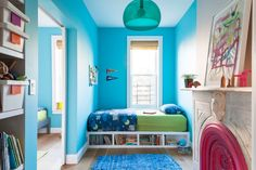 Super creative, interesting children's room design!