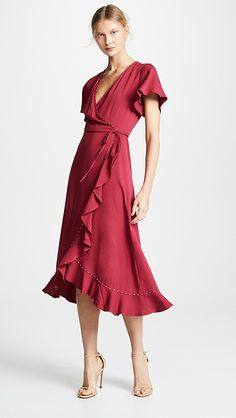 Looking for Loyd/Ford Wrap Dress ? Check out our picks for the Loyd/Ford Wrap Dress from the popular stores - all in one. Ford Clothing, Gothic Clothing, Cycling Clothing, Plus Size Wedding Dresses With Sleeves, Dresser, Plus Size Kleidung, Spaghetti Strap Dresses, Casual Dresses, Peplum Dresses
