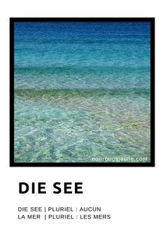 die See | la mer
