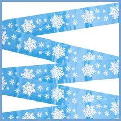 Frozen Birthday Party Supplies, Frozen Party, Frozen Frozen, Build A Snowman, Snowflakes, Tape, Plastic, Make A Snowman, Snow Flakes