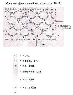 Marisabel crochet: SACO - TALLAS 38/40 Y 42/44