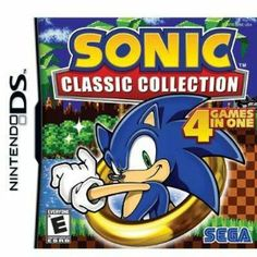 New - Sonic Classic Collection DS by Sega - 67035 by Sega. $39.99. 0. Sonic Classic Collection DS
