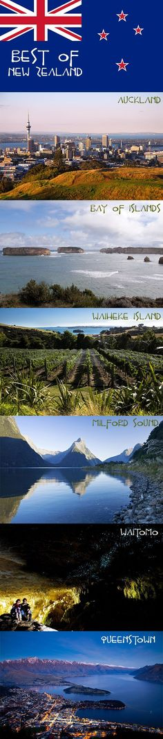 The Best Things to Do in New Zealand. #travel #newzealand