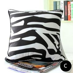 Modern minimalist Geometric pillows black and white decorative pillows for grey couch