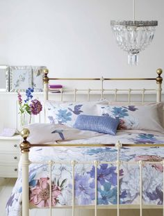 Welcome to Marks & Spencer Home Tex, Country Chic, Country French, Master Bedroom, Bedroom Decor, Cottage Chic, Smart Home, Pastel Colors, Bedding Sets