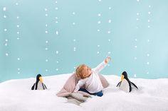 ¡¡¡Miraaaa, si está nevando!!! #babybites_