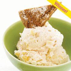 Apple Ginger Ice Cream