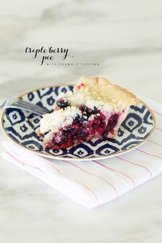 Triple Berry Pie // Pink Peonies